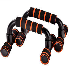 1 Pair S Shaped Push-up frame Stand Muscle Building
