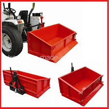 HOT!!! Tipping Transport Box for Tractors - Agriculture Moving Equipment