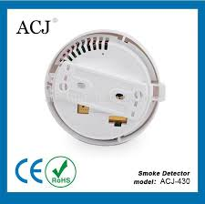 9V DC Battery-Operated Photoelectric Smoke and Fire Alarm, 1-Pack available
