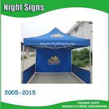 Silk screen printed foldable waterproof canopy tent for advertising