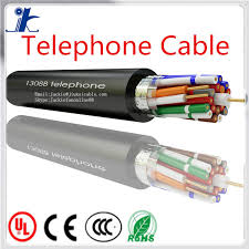 2 or 4 core telephone cord cable