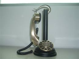 BRASS ANTIQUE TELEPHONE