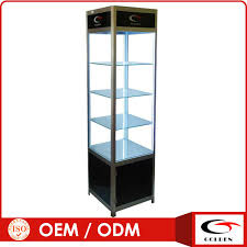 2016 latest Mdf Wood Glass Jewelry Display Counter