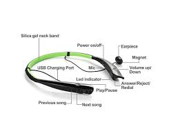good present gift wireless stereo neckband bluetooth earphone HV-930 with high quality sound