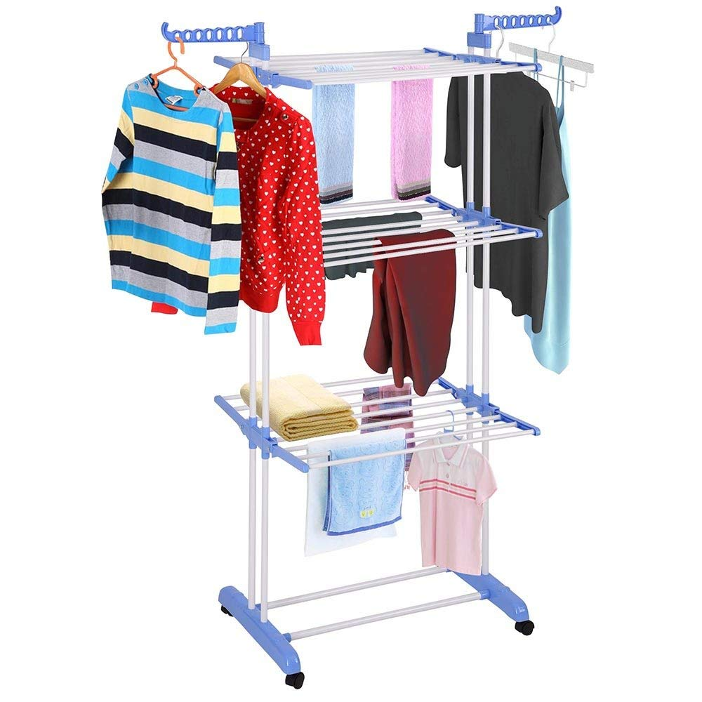 Cloth Rack Stand Double Pole