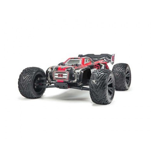 ARRMA KRATON 6S BLX BRUSHLESS RTR 1/8 MONSTER TRUCK (RED/BLACK) - (Medanelectronic)