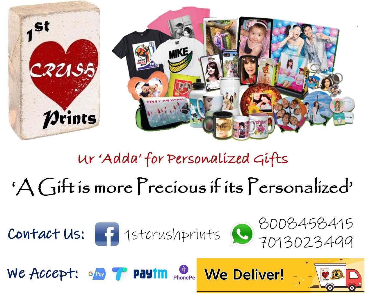 Customized Gifts