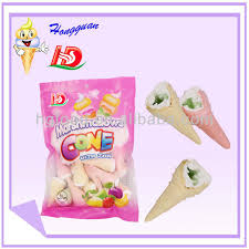 Apple flavor of marshmallow confectionery