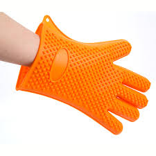 Heat Resistant Oven Cooking Silicon Glove/oven mitt